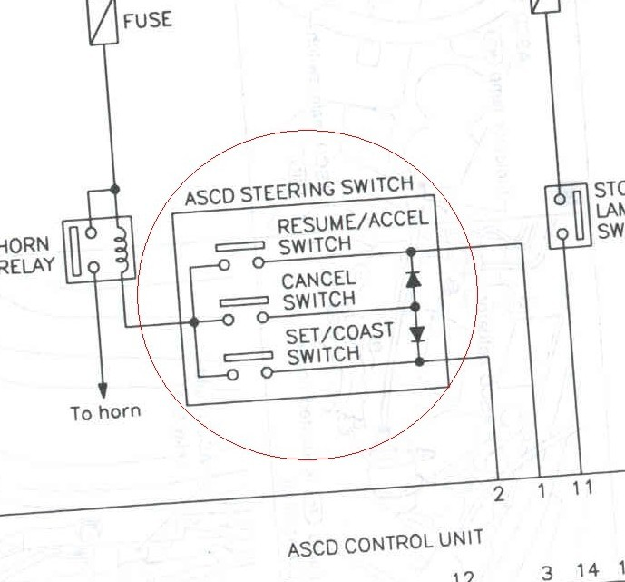 FSM cruise control button wiring diagram