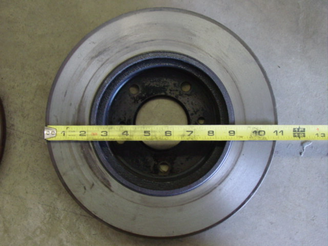 "Front 11"" 300ZX rotor (same diameter for 26 mm and 30 mm rotors)"