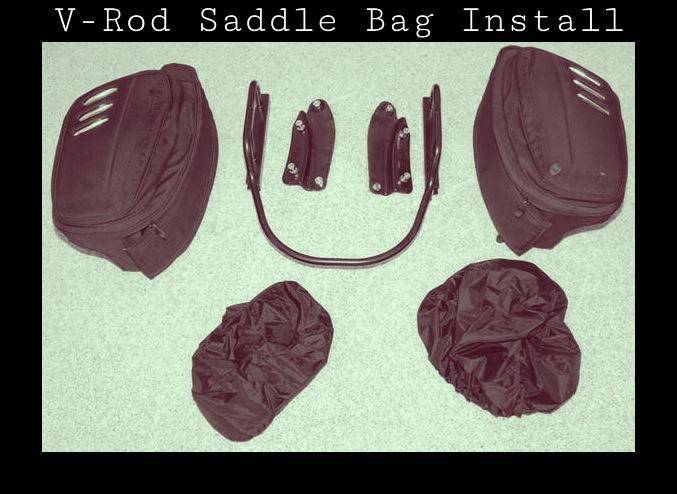 Harley Davidson V-Rod Saddle Bag Install | importnut net