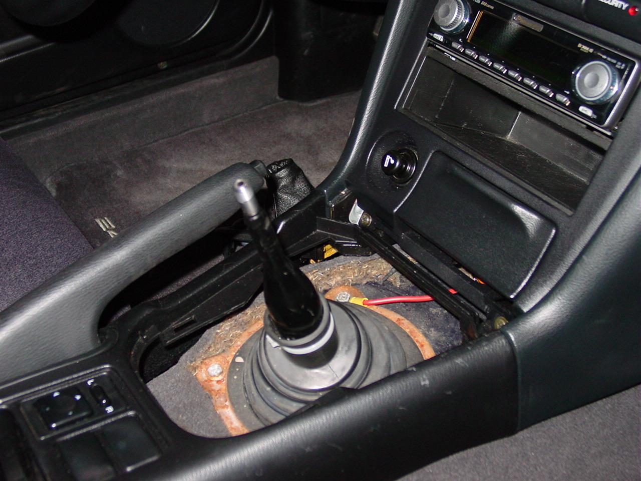 240SX BampM Shifter Install