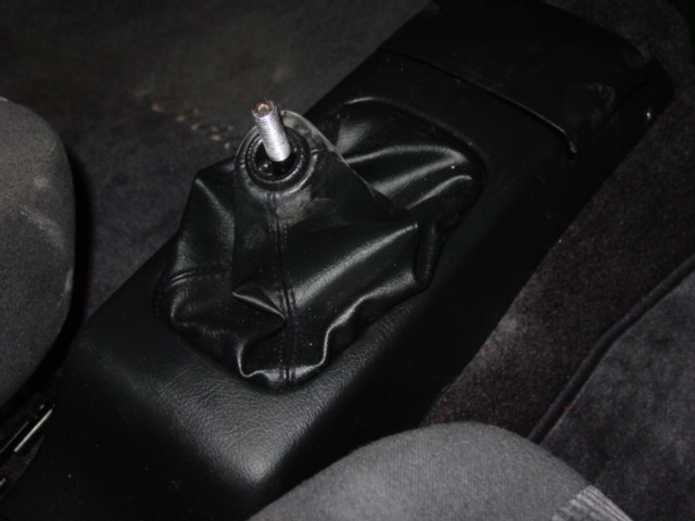Replace the center console.