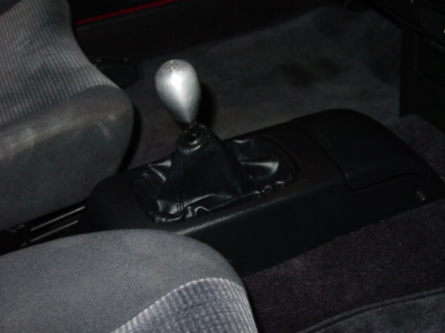 Install your shift knob of choice!