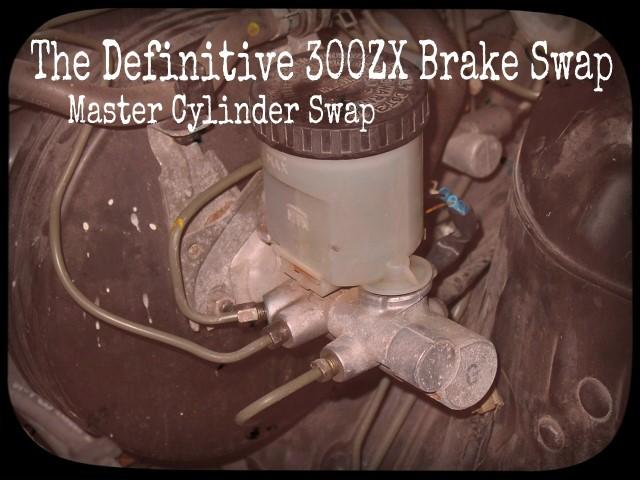 The Definitive 300ZX Brake Swap   importnut net