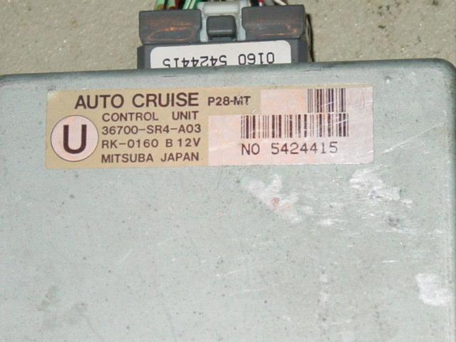 Cruisecomp on 95 Acura Integra Coolant Temp Sensor