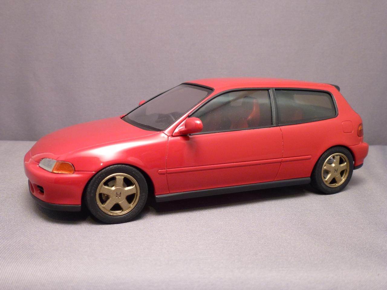 Honda eg civic hatchback hasegawa scale for Honda eg hatchback