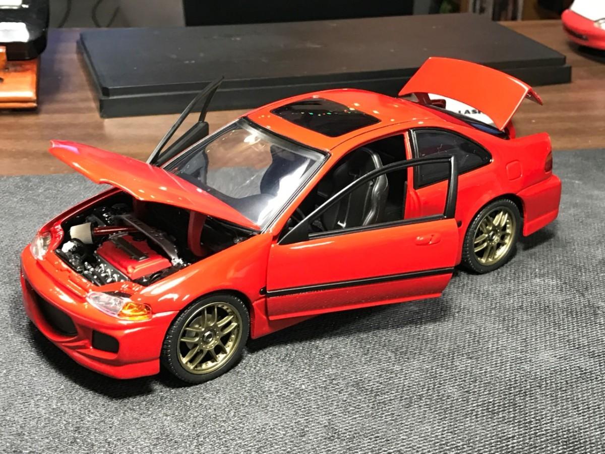 Diecast Civic on 1997 Acura Integra
