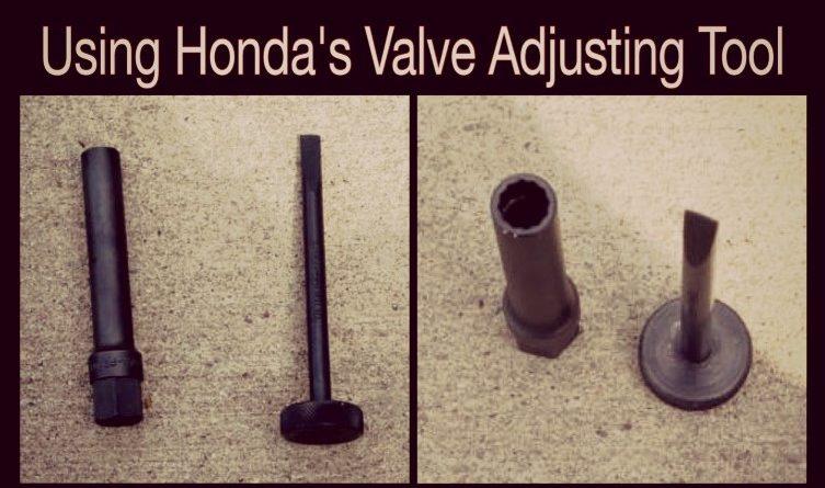 Using Honda's Valve Adjusting Tool | importnut net