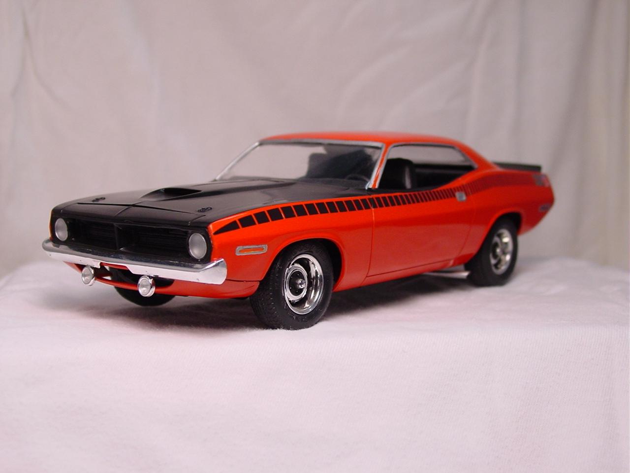 1970 Plymouth AAR Cuda - Revell | Scale importnut.net
