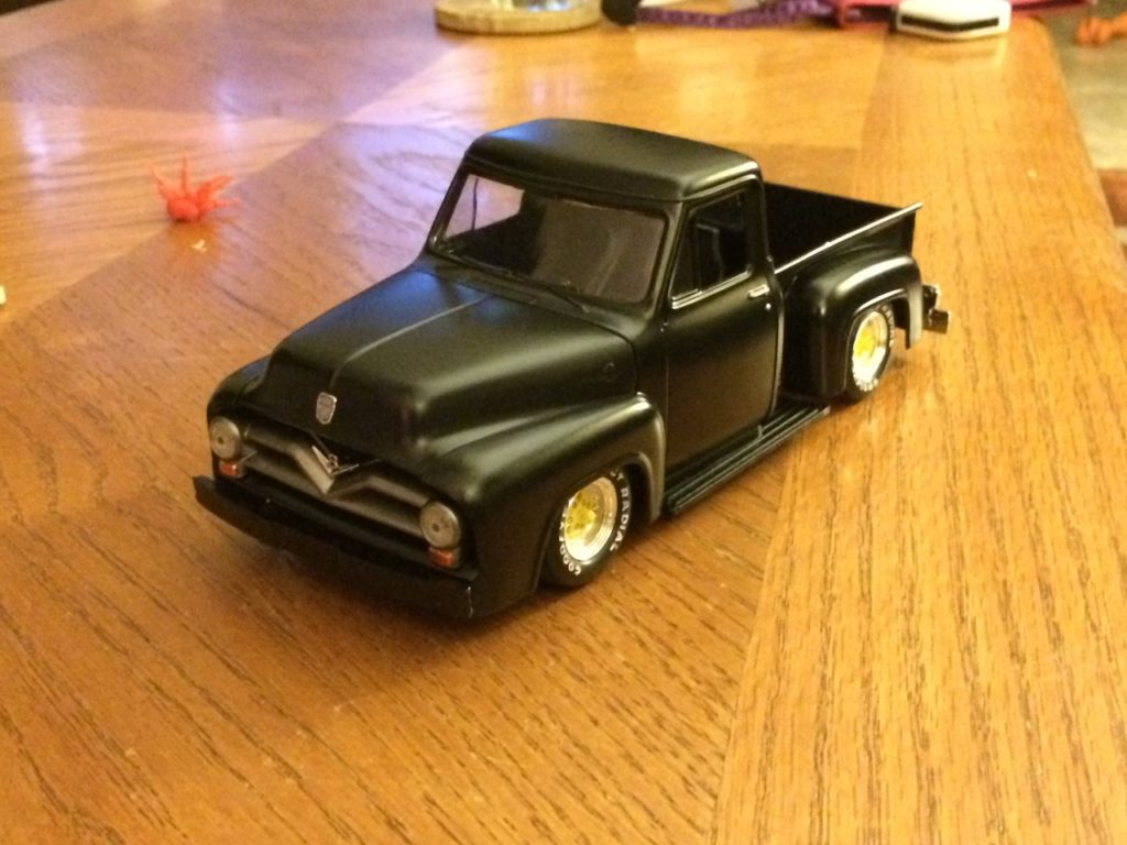 1955 Ford Rat F100 Monogram Scale Side